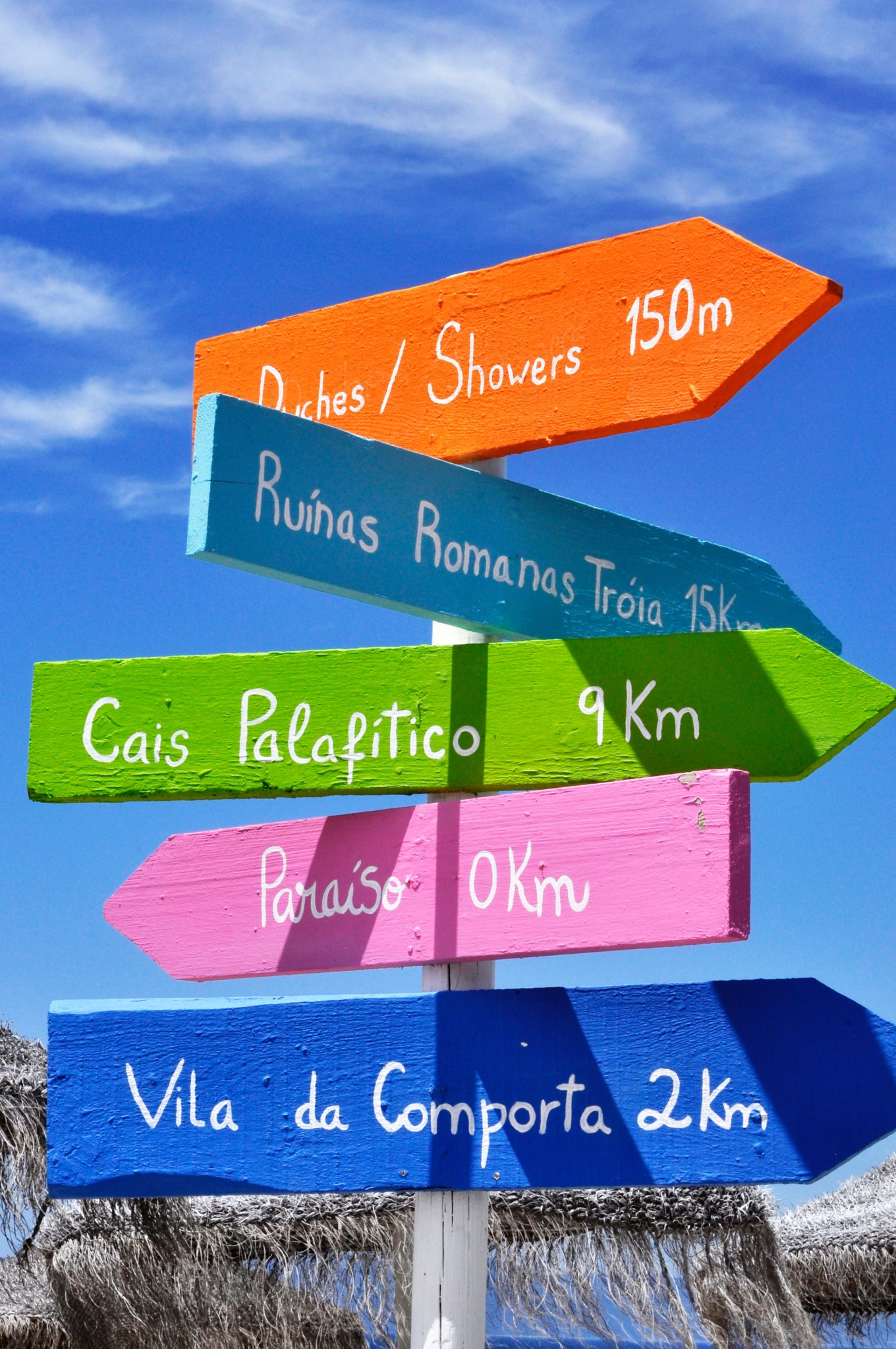 Photo of a stack of directional signs. Photo by Álvaro Montanha on Unsplash